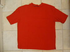 Cabela's Legendary Quality Outdoors Thick Durable Soft Orange T Shirt XL