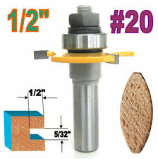 """1 pc 1/2"""" SH Biscuit #20 Slotting 5/32""""x1/2"""" Joint Assembly Router Bit sct-888"""