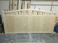driveway gates 6ft x 10ft wide lincolnshire swan neck