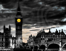 Big Ben/London/England/UK/Trave Poster/Big Ben Clock Tower/17x22 inch