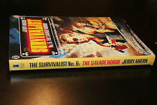 (64) The survivalist N°6 : the savage horde / Jerry Ahern  / New English Library