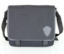 NEW Authentic GUCCI Canvas Messenger Bag w/Hysteria Crest, Black, 282524 10