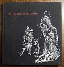 Les Plus Beaux Dessins Allemands 1964 Eisler HC ILLUSTRATED ART BOOK