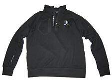 RLX Ralph Lauren Polo Black Stretch Shell Tech Jacket Coat Large L
