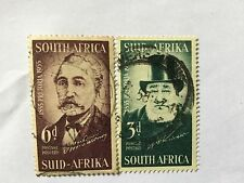 1955 South Africa Nice Stamps Set. SC 214-215