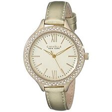 Caravelle New York Women's 44L131 Japanese-Quartz Gold Watch