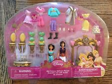 DISNEY PRINCESS Jasmine And Aladdin MINI PRINCESS BALLROOM Polly Pocket PLAYSET