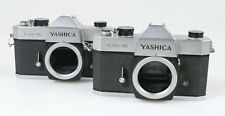 YASHICA TL-ELECTRO BODY, SET OF 2, 1 FOR PARTS