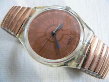 1990 Swatch Watch Standard Copper Dusk GK127
