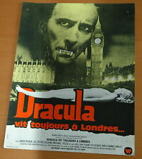 CHRISTOPHER LEE PETER CUSHING THE SATANIC RITES OF DRACULA 1973 RARE SYNOPSIS