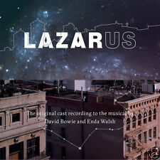 LAZARUS, ORIGINAL NY CAST, DAVID BOWIE - LIM. ED. WHITE (SEALED) + BOOK (NEW)