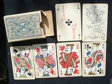 "1945 ""Union Fait la Force"" Playing Cards. Ets. Mesmaekers Turnhout Belgium RARE"