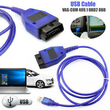 1PC USB Cable KKL VAG-COM 409.1 OBD2 II OBD Diagnostic Scanner VW/Audi/Seat VCDS
