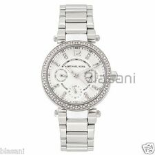 Michael Kors Original MK5615 Women's Parker Silver-Tone Set With Crystals Watch