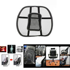 Massage Cushion Cool Mesh Back Lumber Support Brace Home Chair Car Seat Pad
