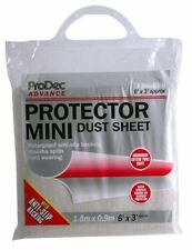 ProDec Advance Protector Dust Sheet Cover 6' x 3' Foot / 1.8m x 0.9m (CRPRMINI)