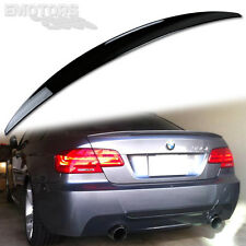 PAINTED BMW E92 P TYPE 2D REAR TRUNK SPOILER WING LOW KICK 2011 325xi #475 ABS