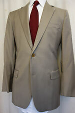 NWOT Brooks Brothers 1818 Fitzgerald Khaki Wool Sport Coat 40S