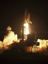 SPACE CENTER SPACE SHUTTLE DISCOVERY'S FIERY LAUNCH ART PRINT POSTER 295PYA
