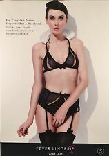 Fever - Fairytale Snow Sweetheart - sexy role play lingerie set small 26524S NIB