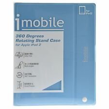 LEXMA iMobile 360 Degrees Rotating Stand Case for Apple iPad 2 / 3 / 4 - Blue