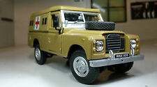 1:43 Scale Model Land Rover Series 2a 3 LWB 109 Army Ambulance Oxford Cararama