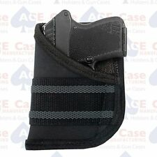 Ace Case Black Pocket Concealment Holster Fits Sig P238 (100% Made in U.S.A.***