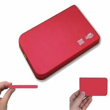 160GB External USB Portable Pocket Hard Drive PS3 Laptop Desktop Computer HD Red