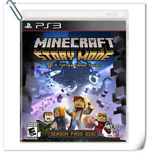 PS3 SONY PlayStation Minecraft: Story Mode Adventure Telltale Games