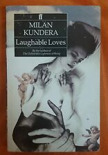 LIBRO MILAN KUNDERA - LAUGHABLE LOVES - FABER AND FABER 1974