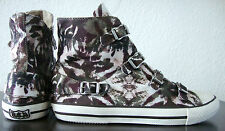 Ash virgin Cheville-sneaker Femmes Chaussures Chuck Camouflage Boucle taille 41 NEUF