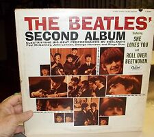 BEATLES SECOND ALBUM MONO T 2080 1964 SHE LOVES YOU
