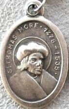 Saint St. Thomas More Medal + Lawyers Judges Civil Servants + Defender of Faith