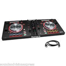 Numark MIXTRACK PRO 3 mp3 USB 24-bit Controller + MIXER 2-ch + Serato DJ + più