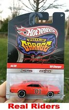 Hot Wheels Phil's Garage 69 Charger General Lee The Dukes Of Hazzard Real Riders