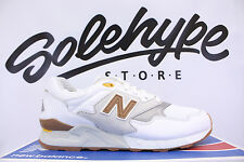 NEW BALANCE 878 WHITE GREY BROWN STEEL ML878ATA SZ 8.5