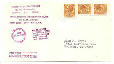 Italy   Pquebot  Mail  Cancelled In Seabrook,Texas  To Houston,Texas 1978