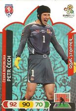 PETR CECH # GOAL STOPPER 1/81 REP.CZECH CARD PANINI ADRENALYN EURO 2012