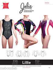 Jalie Princess Seam Gymnastics Leotards Women & Girls Sewing Pattern 3464 Lillie