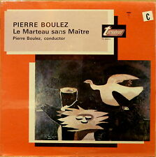 SEALED Turnabout LP Alto & Six Instruments PIERRE BOULEZ Le Marteau sans Maitre