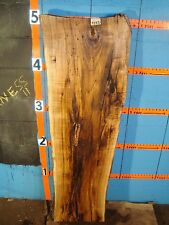 "# 9233  3"" THICK  butternut yellow walnut Live Edge Slab lumber KILN DRIED"