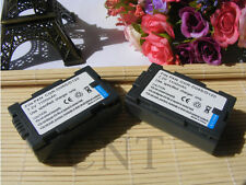 2PCS Battery for Panasonic CGR-D120 A AG-DVC20 AG-DVC63 AG-EZ50U AG-HPX250