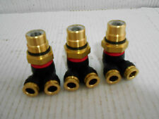 "3 NEW,PARKER PPV PRESSURE PROTECTION VALVE 3/8"" DOT DUAL ,150 PSI MAX CONNECTOR,"