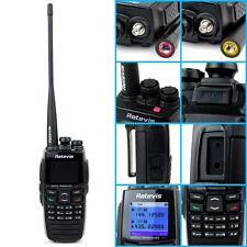 Retevis RT2 Walkie Talkie VHF/UHF GPS Digital TwoWay Radio VOX Scan DPMR+Antenna