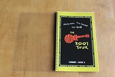 The Monkees / TOUR ITINERARY / Summer Tour USA 2001 Book 3