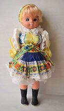 Vintage Collectible Traditional Russian Clothing Cute Little Girl Doll Beauty #2