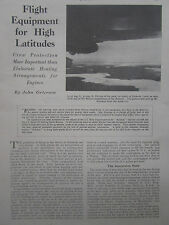 3/47 ARTICLE 3 PAGES WHALING SHIP BALAENA WALRUS ANTARCTIC FLIGHT EQUIPMENT CREW