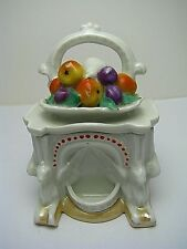 VICTORIAN PORCELAIN FAIRING BOX FIGURINE # 3544 by Conta Boehme Germany ca1890s