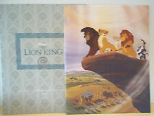 2 Disney Store Lithographs - The Lion King - The Lion King II Simba's Pride