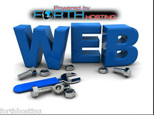 2 ANNO 5 siti internet illimitato Web Hosting bundle software libero & modelli di sito web